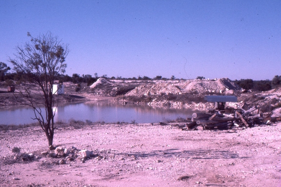 Lightning Ridge, Puddling Dam